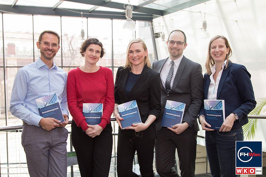 Markus Ebner, Christina Schweiger, Barbara Covarrubias Venegas, Dominik Fröhlich, Steffi Bärmann