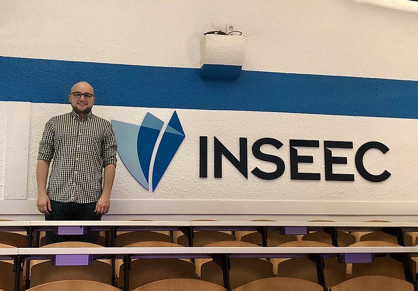 David Bourdin bei der International Week der INSEEC – ECE