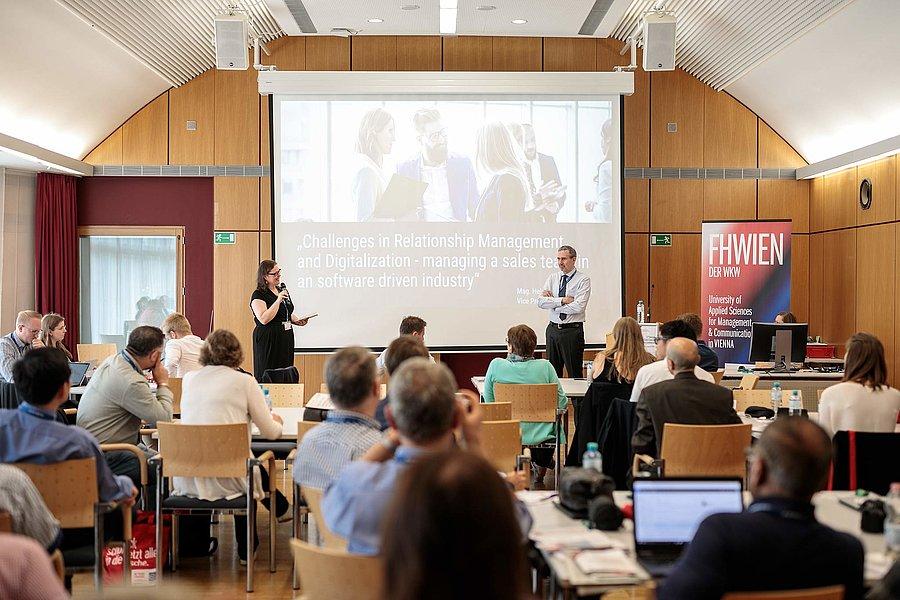 Rund 70 Sales-ExpertInnen aus aller Welt trafen sich bei der GSSI-Konferenz in Wien. Foto: Alexander Müller
