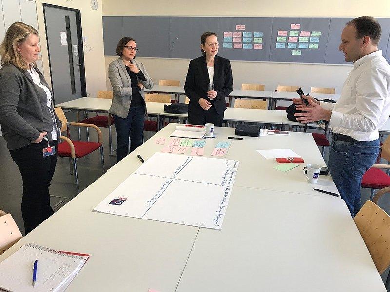 Workshop & Werbedreh für den MSc Digitale Kommunikation & Marketing mit Springer Campus