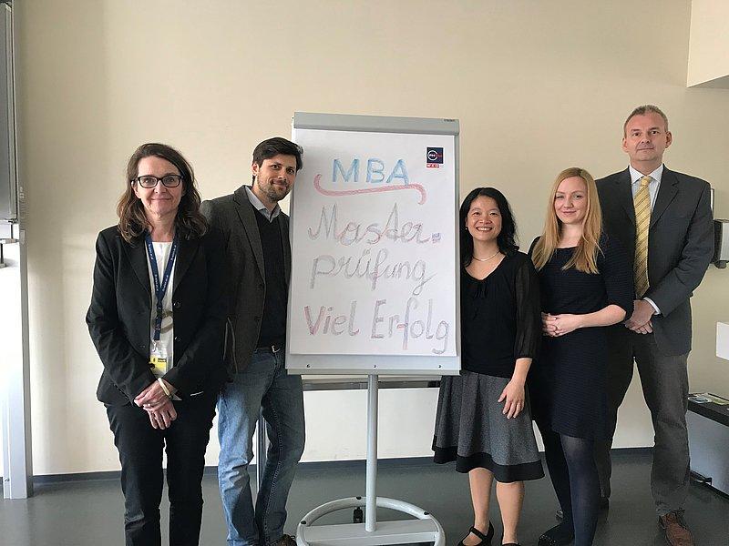 Master-Prüfung MBA