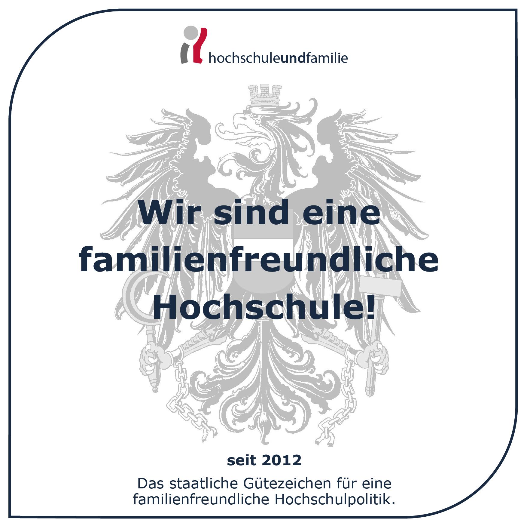 Gütezeichen_Familienfreundliche Hochschule