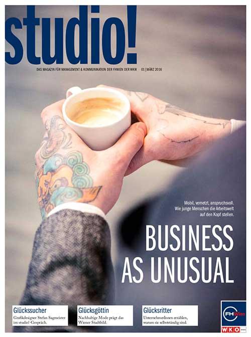 studio! Magazin 1/2016