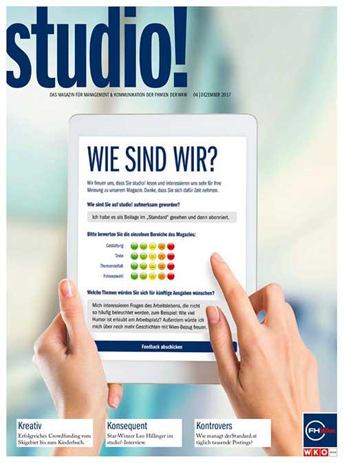 studio! Magazin 4/2017