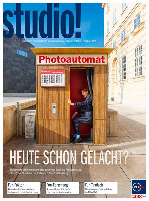studio! Magazin 1/2018