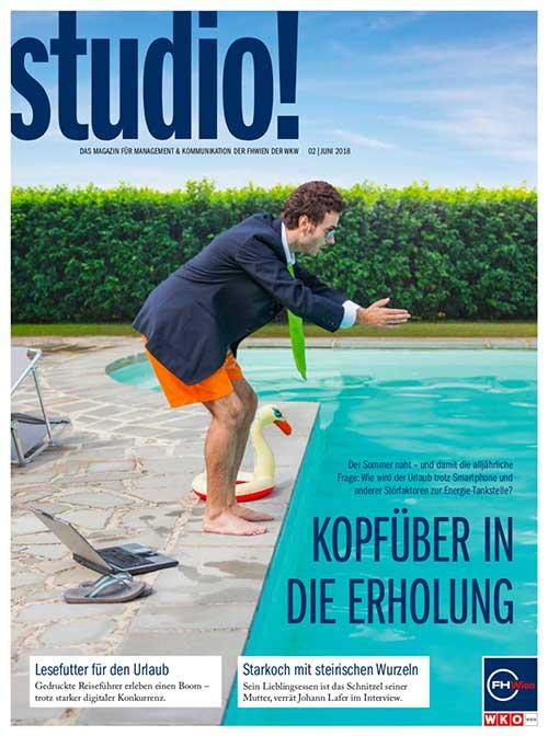 studio! Magazin 2/2018