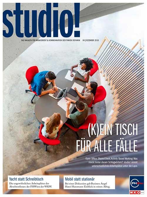 studio! Magazin 4/2018