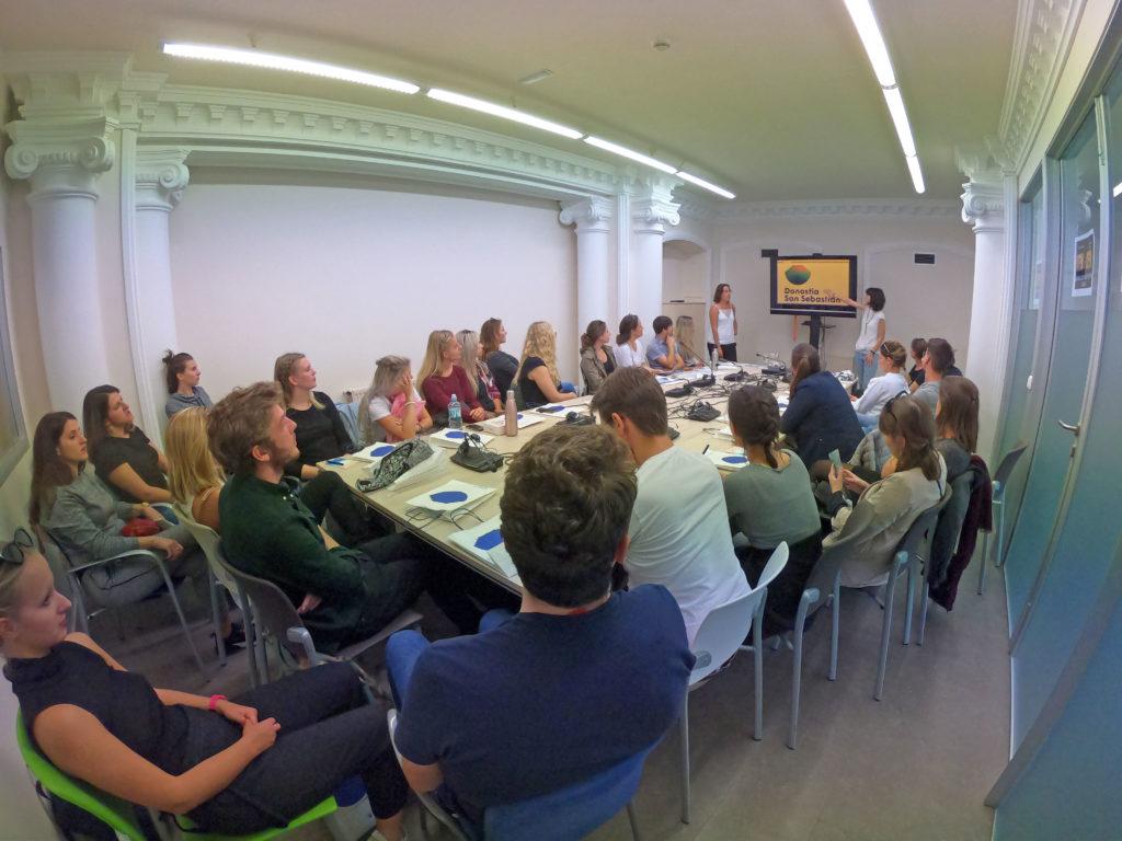 Expert Talk mit dem Tourismusverband San Sebastian. (© Michael Roth)