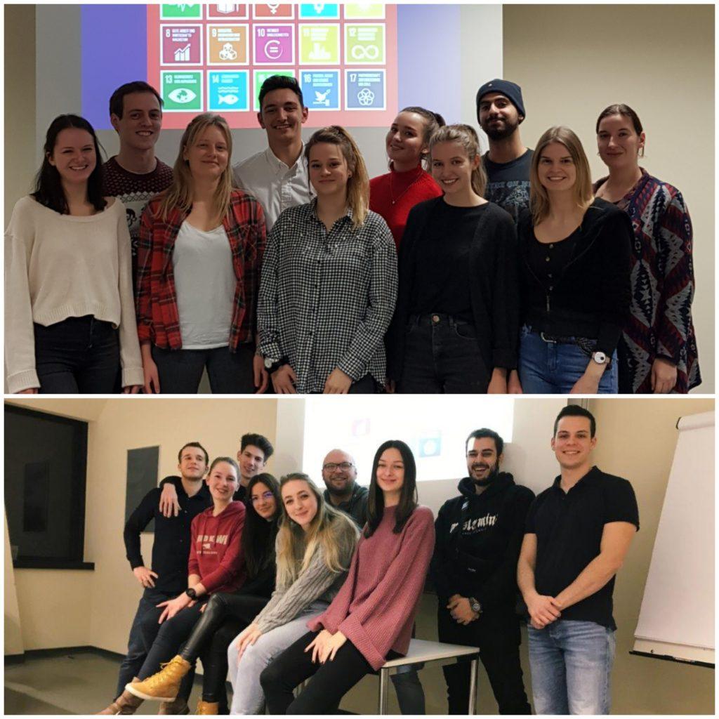 Gruppen – Bachelor-Studiengang Kommunikationswirtschaft, 1. Semester, berufsbegleitend