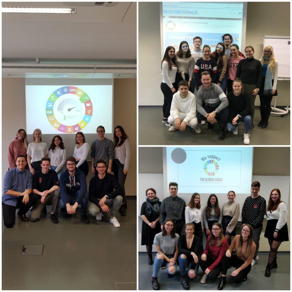 Gruppen – Bachelor-Studiengang Kommunikationswirtschaft, 1. Semester, Vollzeit
