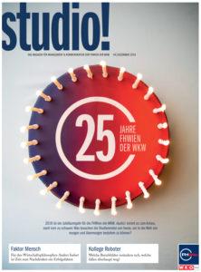 studio! Das Magazin für Management & Kommunikation der FHWien der WKW | Ausgabe 4/2019