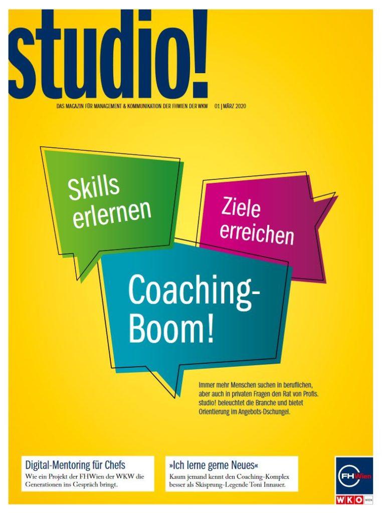 studio! 1/2020 Cover