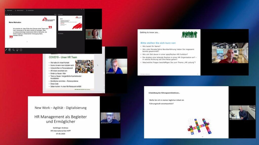 Virtuelle Vorträge