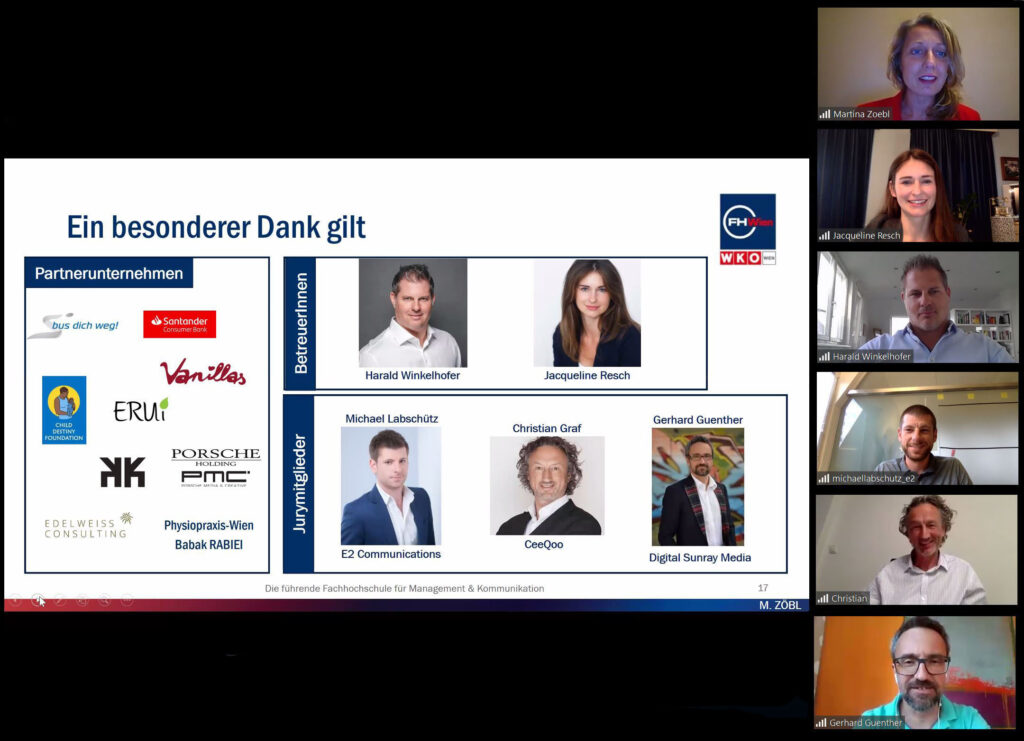 Jury & Lehrende des Digital Marketing Monday