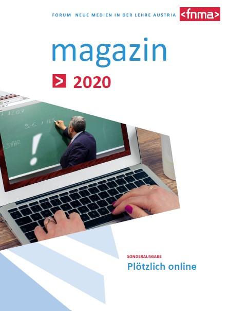 """FNMA-Magazin Sonderausgabe """"Plötzlich online"""""""