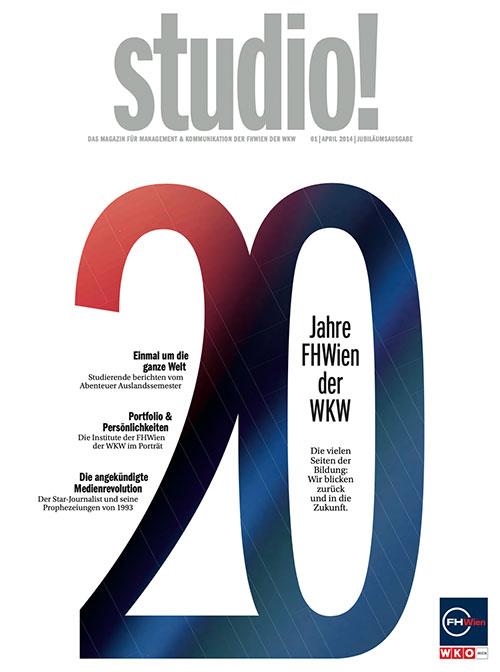 studio! 1/2014 Cover