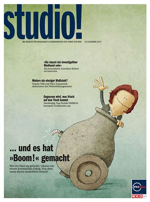 studio! 4/2014 Cover