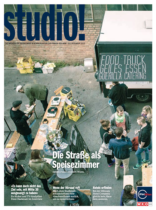 studio! 3/2015 Cover