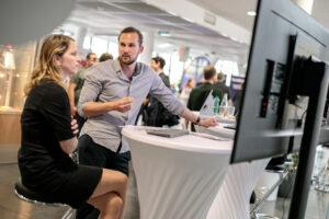 Individuelle Online-Gespräche mit Personalverantwortlichen beim Career Day 2020 der FHWien der WKW