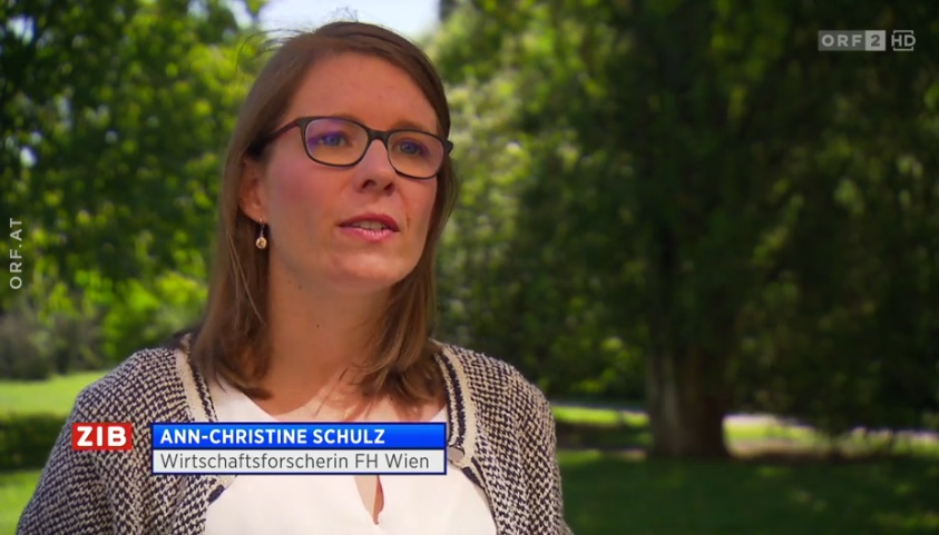 Ann-Christine Schulz im Interview in der ZIB
