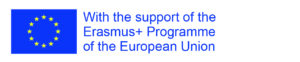 Logo - With the support of the Erasmus+ Programme of the European Union