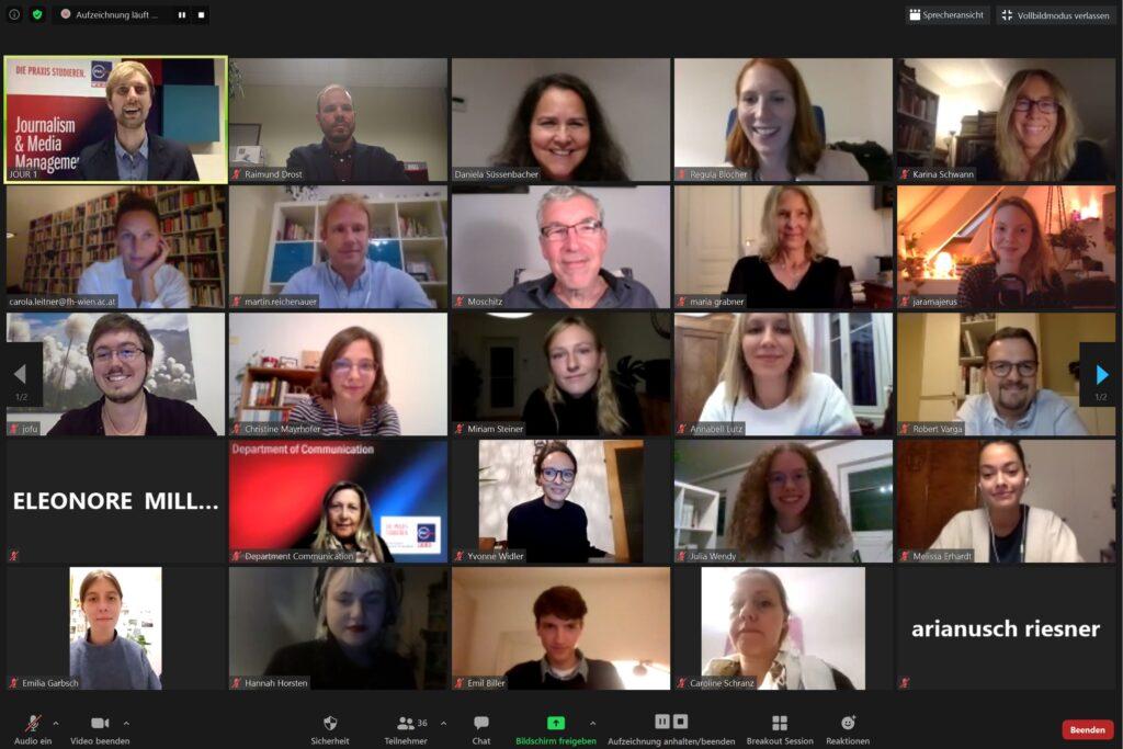 Online-Preisverleihung Journalismus-Nachwuchspreis