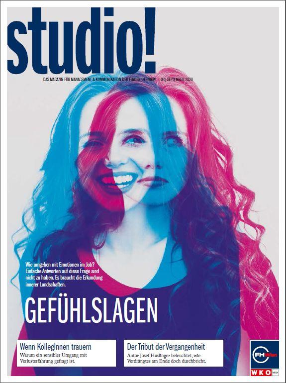 Cover des studio!-Magazins 3/2020