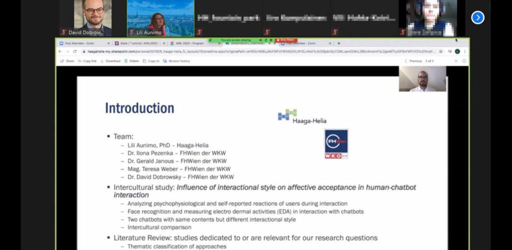 KOnferenzbeitrag der FHWien der WKW zu Chatbots