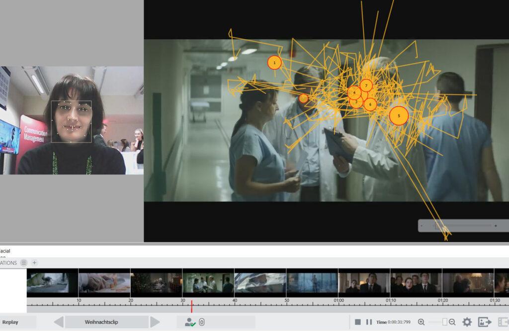Eye Tracking mit dem Web Analytics Lab der FHWien der WKW