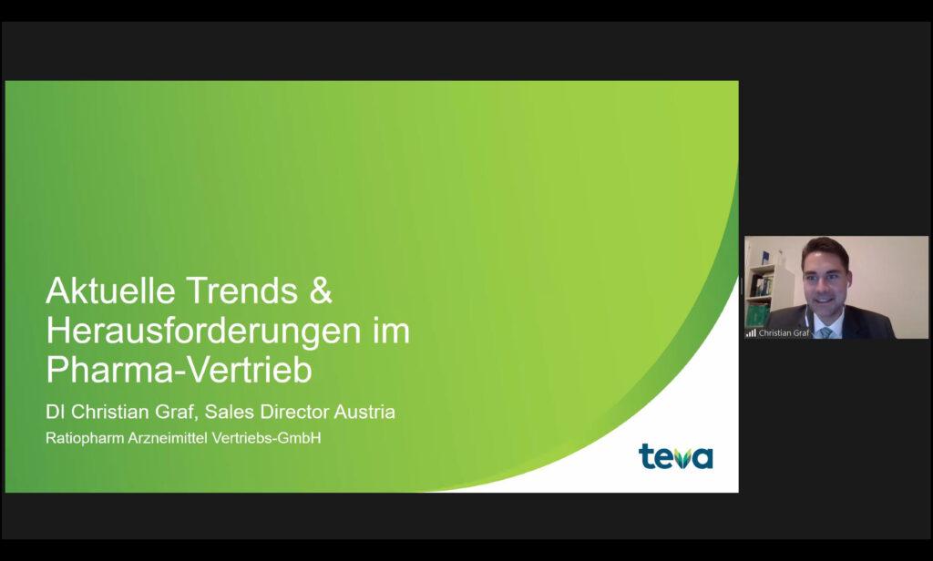 """Sales Keynote """"Aktuelle Trends & Herausforderungen im Pharma-Vertrieb"""" mit Christian Graf"""