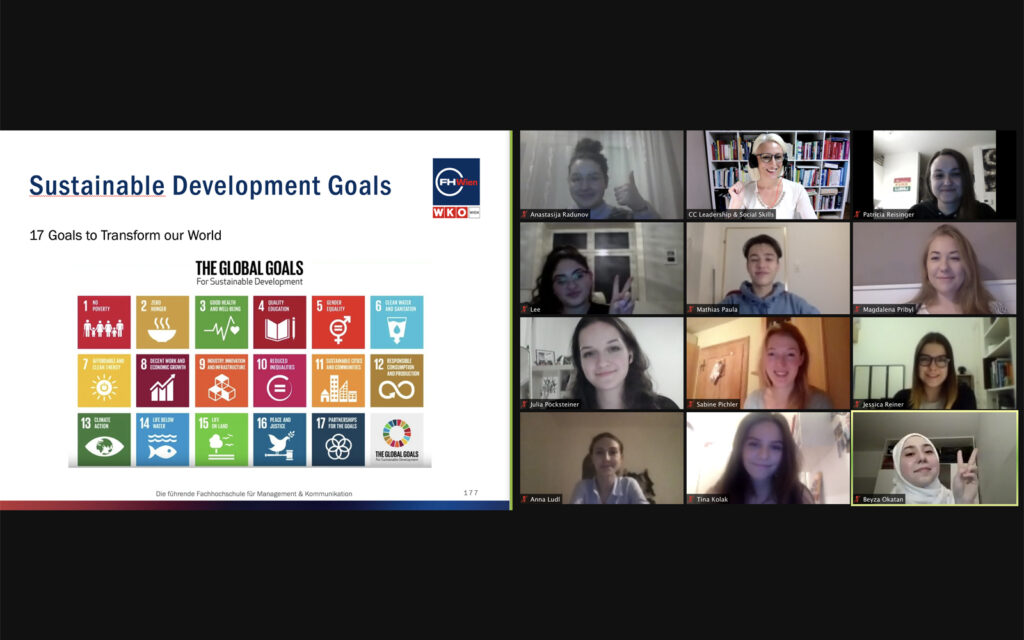 Sustainable Development Goals im Modul Social Skills 1