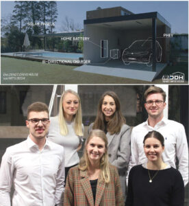 Students from the Master's program in Marketing & Sales Management developed innovative communication concepts for the Mitsubishi Dendo Drive House.