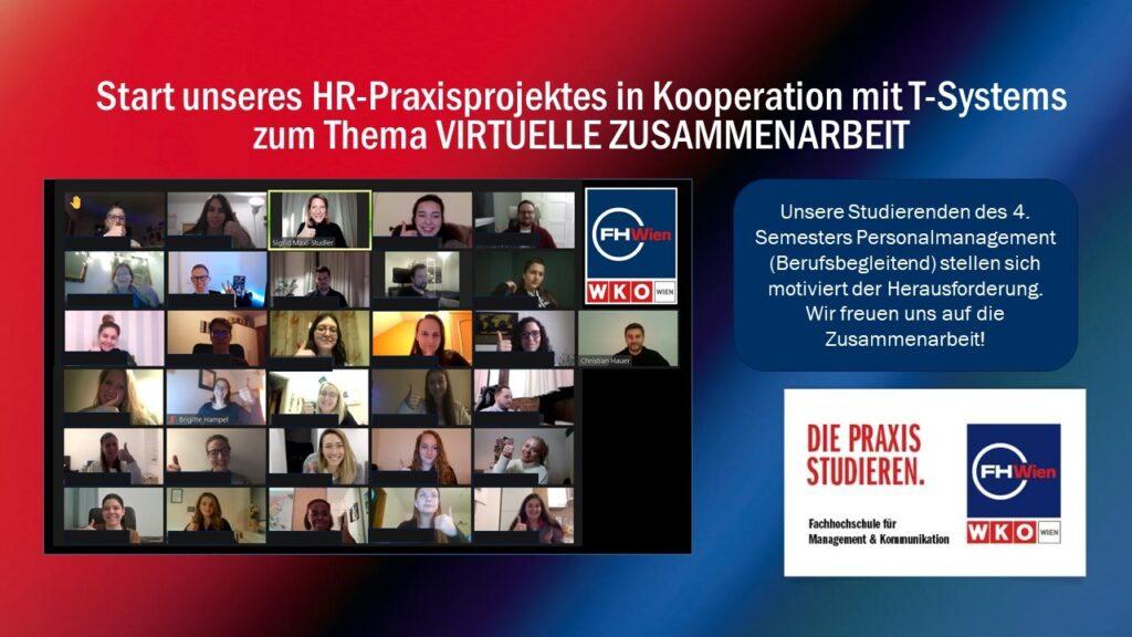 HRO-Praxisprojekt mit T-Systems