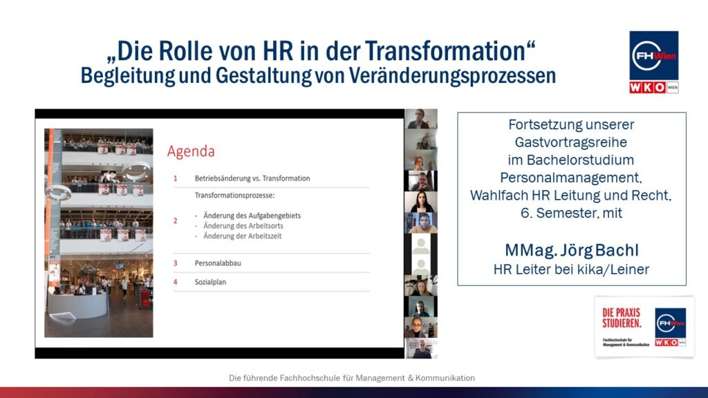 HRO-Gastvortrag mit Jörg Bachl