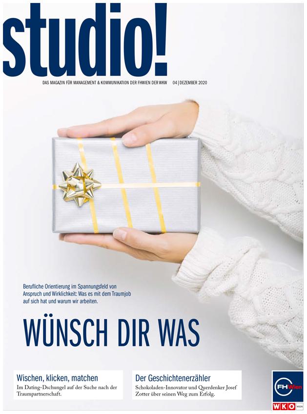 studio! Ausgabe 1/2021 Cover