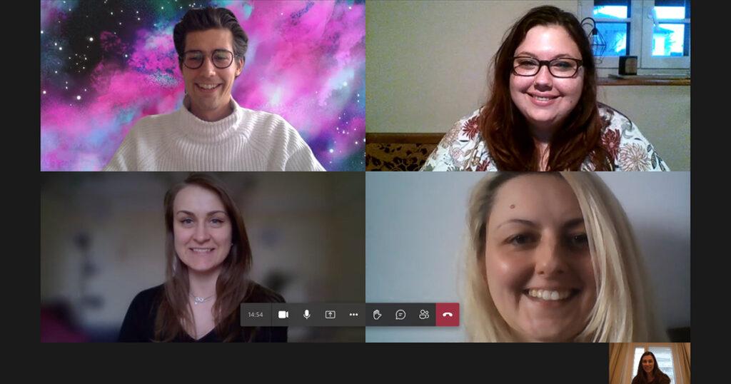 Studierenden-Team im Praxisprojekt mit WEMOVE Running Store