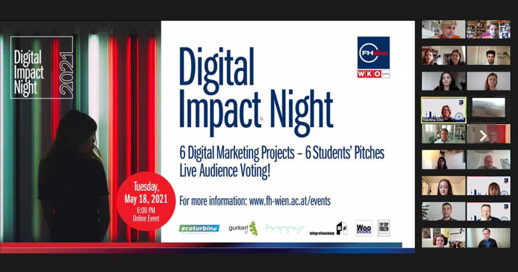 Digital Impact Night inspires online audience