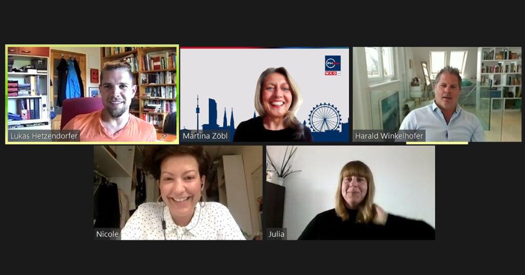 Digital Impact Night der FHWien der WKW: Lehrende und Jury