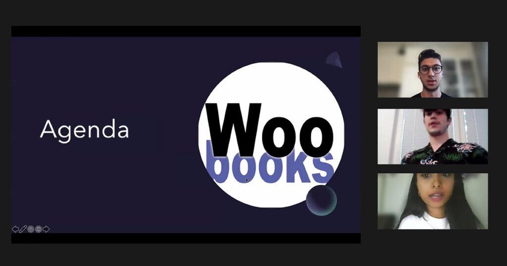Digital Impact Night der FHWien der WKW: Woobooks
