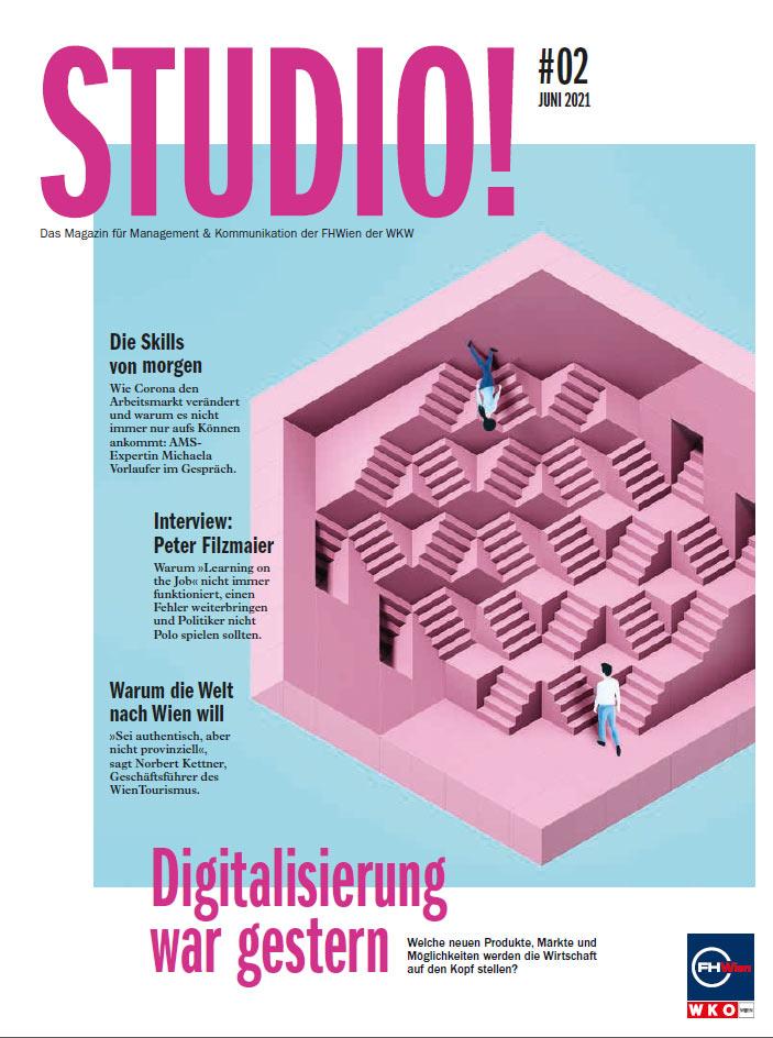 STUDIO! Ausgabe 2/2021 Cover